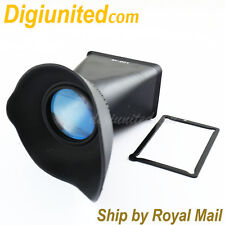 """3"""" LCD Viewfinder Extender 2.8x for Canon EOS M EF-M mount mirrorless camera"""
