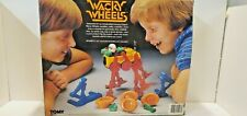 VINTAGE TOMY WACKY WHEELS 1984 Made In Japan Complete Works