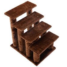 Pet Ramp 21''  Cat Ladder Tree 4-Step Scratcher Tower Play Wood Pet Coffee