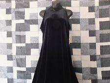 LADIES PLAZZA SOUTH BLACK EVENING GOWN DRESS BEADED NECK SZ 12 NWT STUNNING!