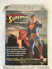DC DIRECT GALLERY SUPERMAN 1:4 SCALE MUSEUM QUALITY COMIC BOOK STATUE #29/1000