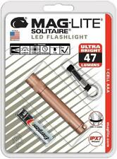 NEW Maglite LED Solitaire Rose Gold 1 cell AAA Flashlight SJ3ASV6