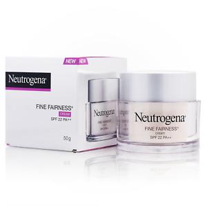 50g Neutrogena Fine Fairness Facial Brightening Deep Moisture Cream SPF 22 PA++