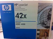 ORIGINAL HP TONER Q5942X SCHWARZ  LASERJET 4250 4350 neu B