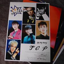 K-POP BIGBANG  TOP T.O.P 10 Posters T.O.P Collection Bromide (10PCS)  A4 SIZE