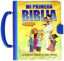 Mi Primera Biblia Portatil - Historias Biblicas Para Niños -Editorial San Pablo