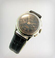 WW2  DULFI CHRONOGRAPH   Black..Incabloc..Landeron..17 Jewels...Swiss.