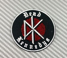 DEAD KENNEDYS IRON PATCH SEW EMBROIDERED Rock Heavy Metal Music GBH EXPLOITED DK