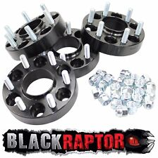 Noir Raptor Navara 2005 sur 30 mm Aluminium Roue Entretoises Fits Nissan D40