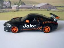 PERSONALISED NAME Gift BLACK Porsche 911 Boys Toys Dad Car Model Stocking Filler