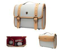 For DSLR Leather Camera Shoulder Bag Insert Case + Travel Belt /Preppie(Big) PB
