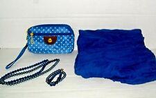 4 Zipper Clutch Wallet, Crinkle Scarf, Necklace& Bracelet Set