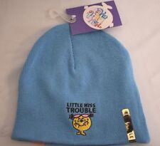 Little Miss Trouble Reversible Beanie Hat Winter Knit Cap Youth Girls