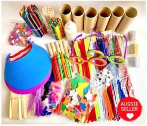 Kids Art & Craft Kit - Aus Seller - Big Basic Craft Pack