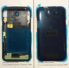 Original HTC One x+ Plus -Akkudeckel Gehäuse Cover Antenne Abdeckung Schwarz Neu