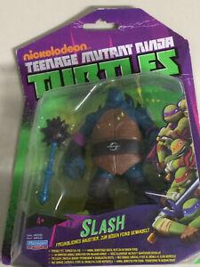 """TEENAGE MUTANT NINJA TURTLES 6"""" 15 cm action figure SLASH 90543 playmates toy"""