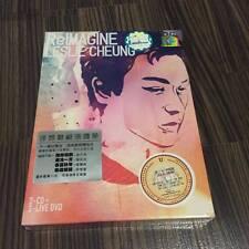 张国荣 張國榮 林忆莲Sandy Lam ReImagine Leslie Cheung 2cd+2dvd 马来西亚版 Malaysia Press