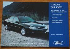 Ford Cars flotte carte postale la promotion 1998 Mondeo avec air conditionné CD & H/SCRN