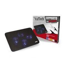 BASE SUPPORTO RAFFREDDAMENTO PER NOTEBOOK PC PORTATILE VENTOLE 2 USB DISSIPATORE