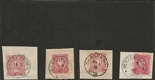 Preussen V. / HERZEBROCK je klarer K2 auf Reichspost-Vorläufer-Briefstück NDP 16