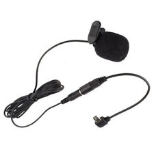 External Microphone Clip On Mic + Adapter Cable For Gopro HD Hero 4 3/3+ Camera