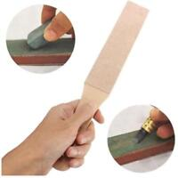 4CM Wide Leather Sharpening Strop Coarse Fine 2 Side Polishing Paste For Razor A
