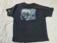 WORLD OF WARCRAFT - Wrath Of The Lich King Official T-Shirt Sz XL