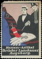 Augsburg: Reklamemarke Herren-Artikel - 417094