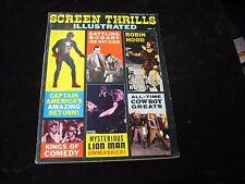 Screen Thrills Illustrated # 7 Magazine G Condition Capt. America Vol. 2 No. 3