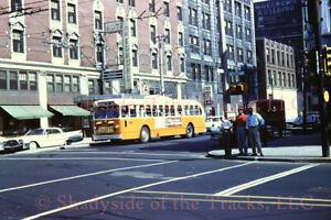 Milwaukee Transport MT Electric Trolley Coach #388 Original Slide 3rd