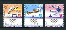 Israel 2012 MNH London Olympics 3v Set High Jump Karate Gymnastics Stamps