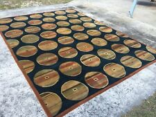 9x12  Ethan Allen Hand Knotted Rug  ( Free Shipping)