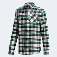 Mens Adidas Skateboarding Tartan Flannel Shirt - CE1809
