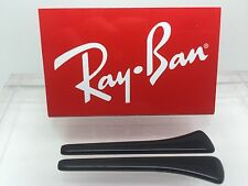 Ray-Ban Authentic Temple Tips Black Round For RB 3449 Genuine Rayban New!!!
