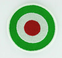 TARGE PATCH - flag TARGET ITALIA COLOURS roundel