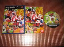 Dragon Ball Z: Budokai BUDOUKAI 3 PS2 Dbz