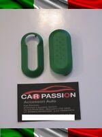 COVER CHIAVE GUSCIO FIAT 500 PUNTO EVO BRAVO PANDA 500L verde scocca KEY SHELL