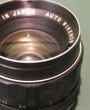 Auto Rikenon (Tomioka)  M42 Screw Mount 1:1.8 f=55mm Camera Lens