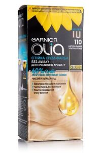 GARNIER OLIA PERMANENT CREAM HAIR DYE NEW NO AMMONIA ALL 23 SHADES ORIGINAL gift