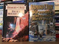 Joblot X 2 Raymond E Feist Hardback Books