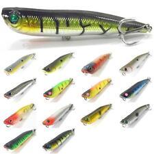 4 inch 1/2 oz Topwater Popper Walking Bait Fishing Lures For Bass Fishing W622