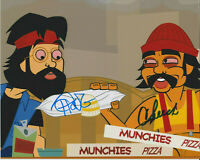 CHEECH & CHONG The Animated Movie SIGNED 8X10 Photo UP IN SMOKE