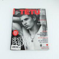TETU Magazine #138 French Language Gay Men Britney Spears Valerie Lemercier 2008