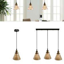 New Modern Glass Ceiling Lamp Shade Vintage Industrial Retro Loft Pendant Light