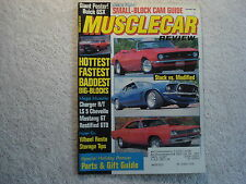 Muscle Car Review 1991 December 1965 Pontiac GTO 1970 Buick GSX 68 GT Mustang