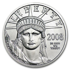 1/4 oz Platinum American Eagle Coin - Random Year Coin - SKU #54