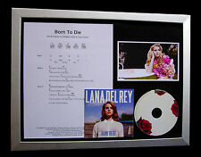 LANA DEL REY Born To Die LIMITED CD MUSIC FRAMED DISPLAY+EXPRESS GLOBAL SHIPPING
