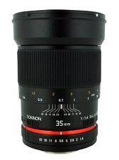 (Open Box) Rokinon 35mm f/1.4 AS UMC Prime Fast Lens For Canon EF
