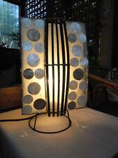 Bali Capiz Shell & Resin Design  Table Lamp x 36cm