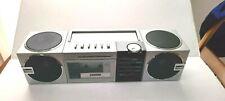 Vintage Sanyo M S540 4 Woofer - 6 Speaker AM/FM Radio Stereo Cassette Boombox